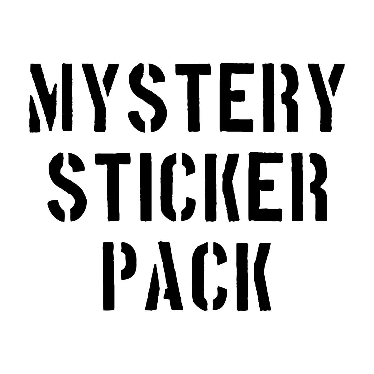 Jam Mystery Sticker Packs